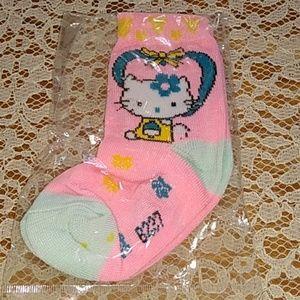 Hello Kitty socks girl